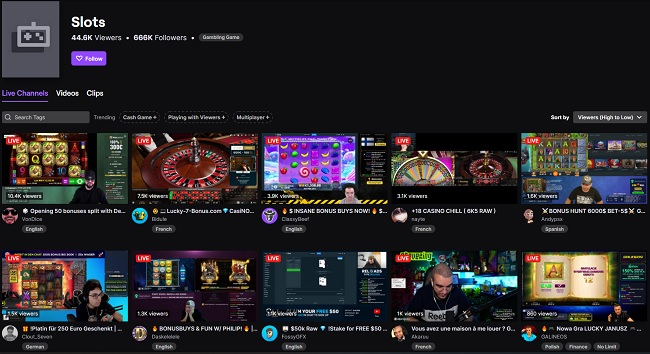 twitch slots category
